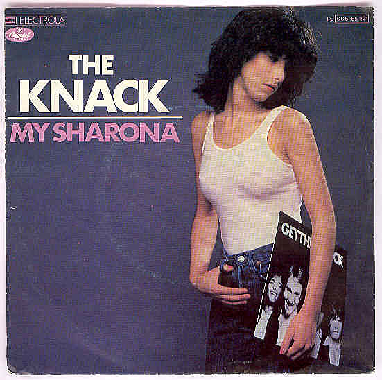 "... The Hot Chick From The Knack's ""My Sharona"" Album Cover [PIC"