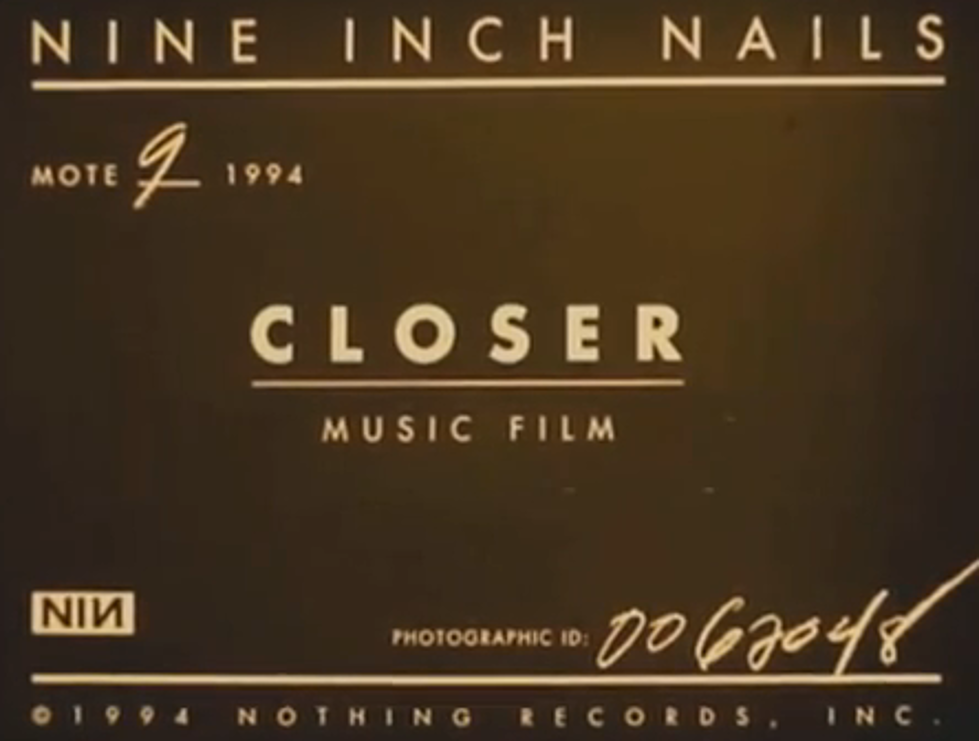 Video of the Night: Nine Inch Nails – \'Closer\' [VIDEO]