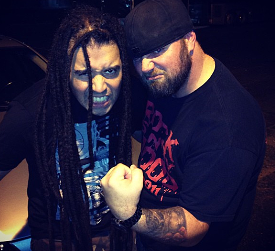Rooster Lubbock's Rock Station KFMX And Elias Soriano Of Nonpoint