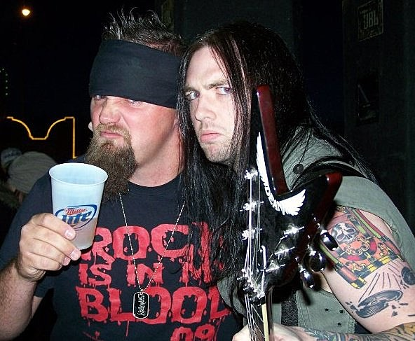 Rooster Lubbock's Rock Station KFMX  And Patrick Judge Of Demon Hunter