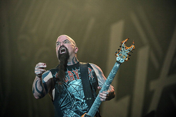 BRAZIL-MUSIC-ROCK IN RIO-SLAYER