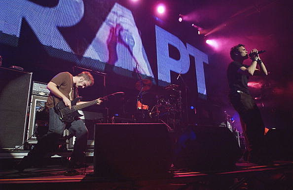 """Trapt perform at """"KROQ Almost Acoustic Christmas"""""""