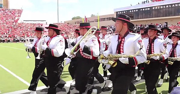 Texas Tech Band Will Have to Pay for Seats at Texas Game
