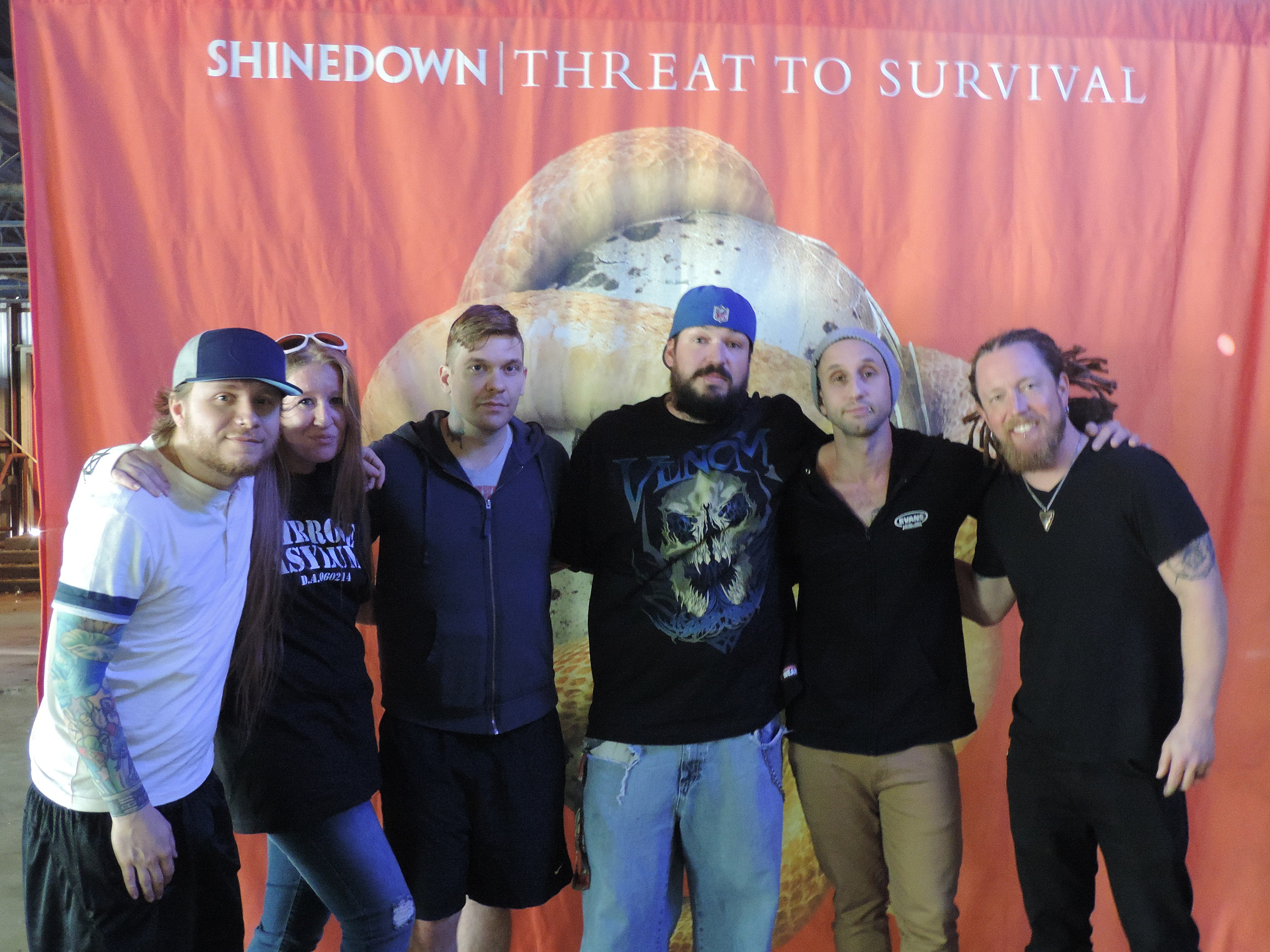 Fmx Listeners Meet Shinedown At The Fmx Freakfest