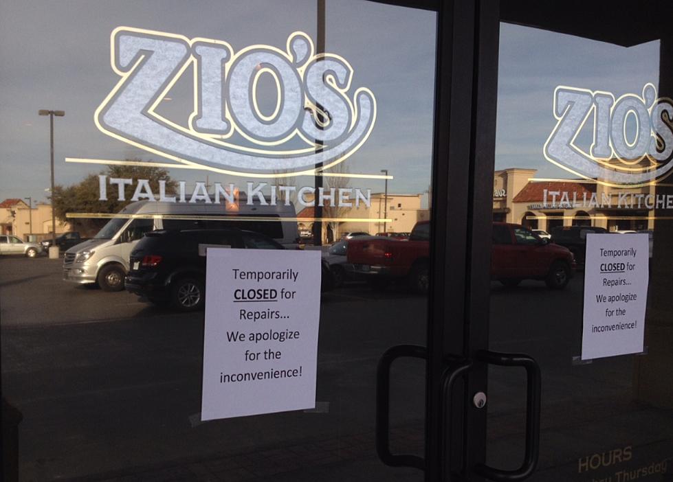 Zio\'s Italian Kitchen in Lubbock Apparently Closes Its Doors