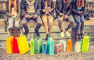 Women and shopping