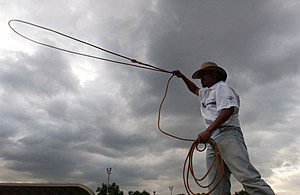 Asian Cowboys Test Their Skills At Manila Rodeo