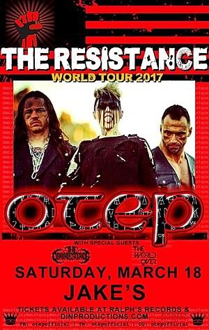 otep/resistance tour