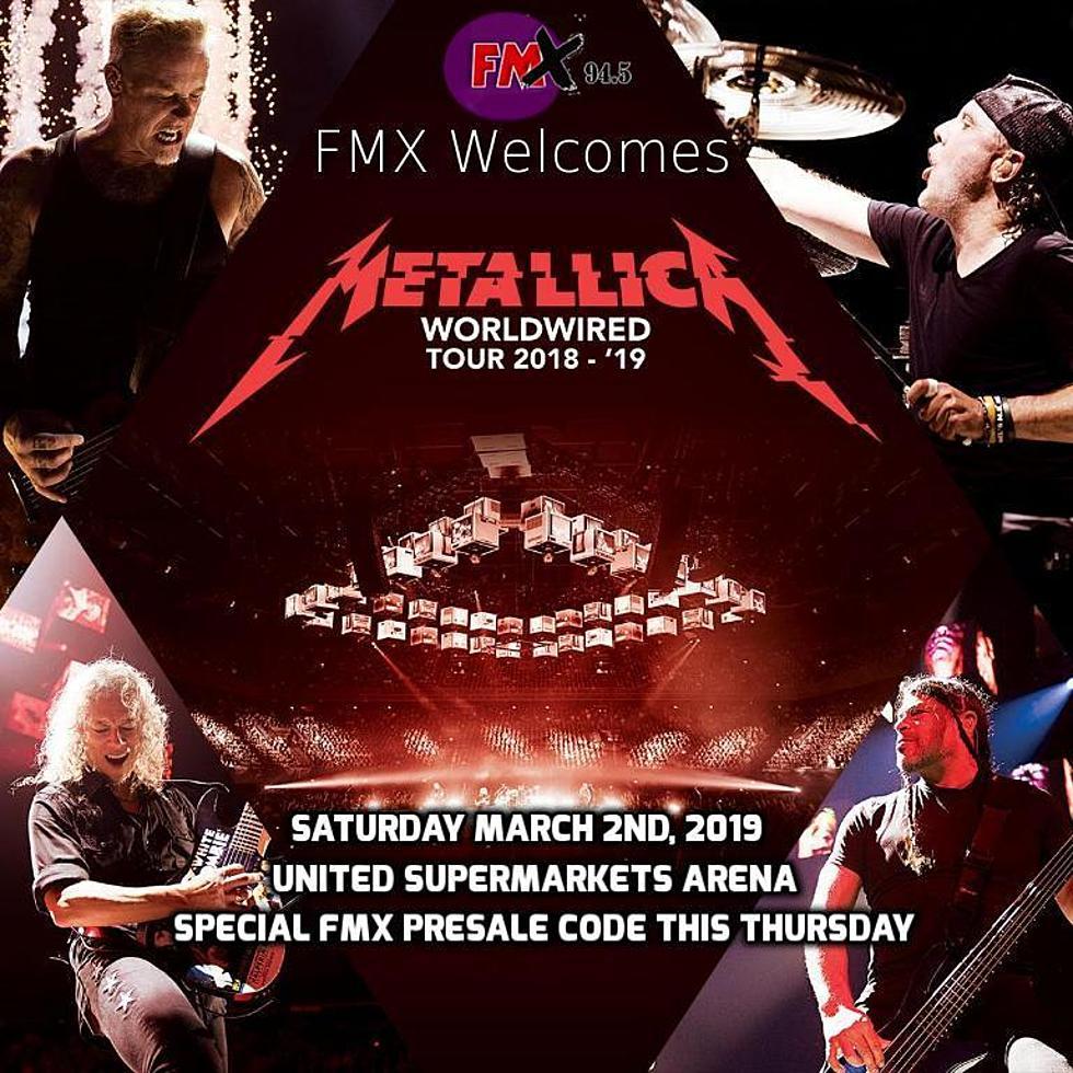 Metallica Rocks Lubbock, Texas On Saturday, March 2, 2019