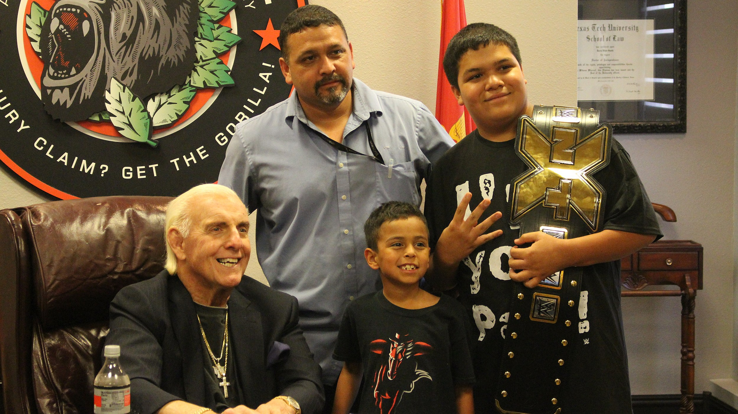 See Pictures From The Ric Flair Meet And Greet In Lubbock